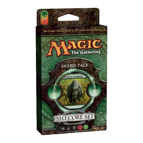 Magic: The Gathering - 2011 Core Set Intro Pack: Stampede of Beast