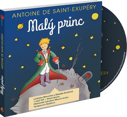 Malý princ - audiokniha (1 CD)