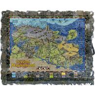 Mapa Severního Magnamundu
