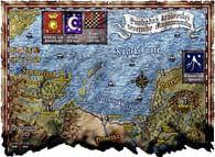 Mapa Severního Magnamundu - Svobodná království