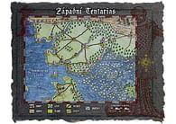 Mapa Západního Tentariasu