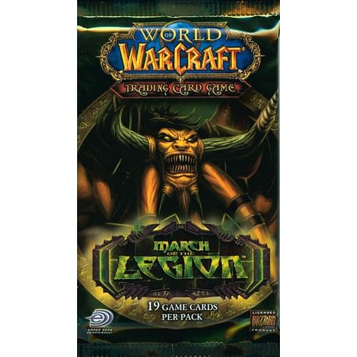 World of Warcraft TCG: March of the Legion Booster