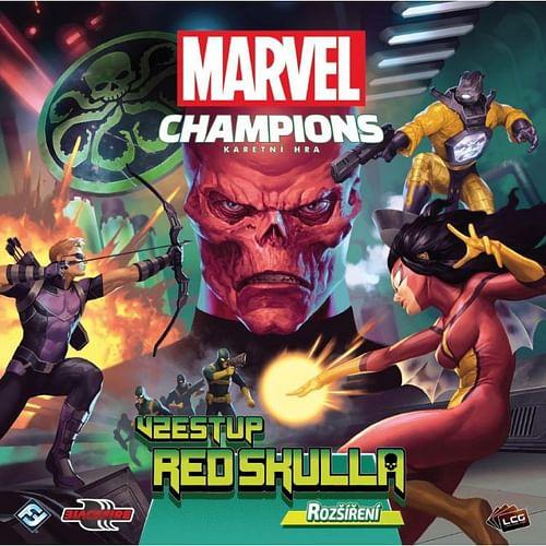 Marvel Champions - karetní hra: Vzestup Red Skulla