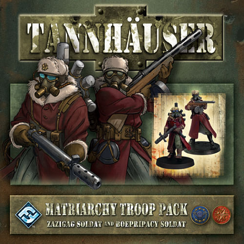 Tannhäuser: Matriarchy Troop Pack