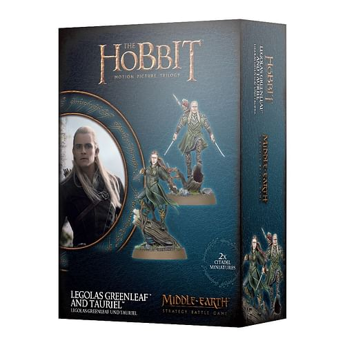 Middle-earth: Strategy Battle Game - Legolas Greenleaf and Tauriel