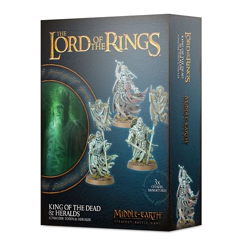 Middle-earth Strategy Batle Game: King of the Dead & Heralds