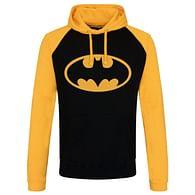 Mikina Batman - Logo, černo-žlutá