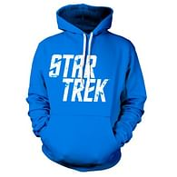 Mikina Star Trek - Distressed Logo (modrá)