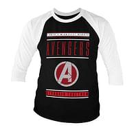 Tričko Avengers - Stronger Together, 3/4 raglánový rukáv