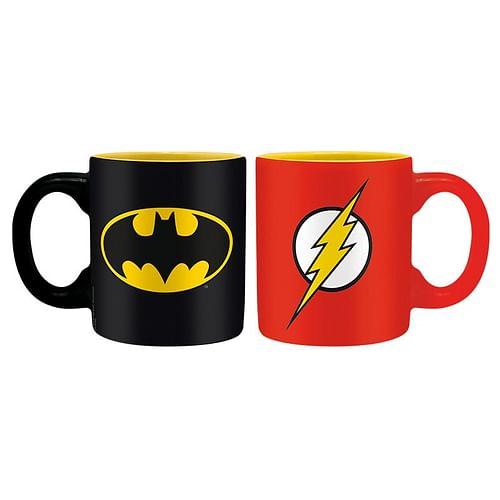 ABYstyle Mini hrnky Batman a Flash 110ml