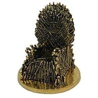 Mini replika Game of Thrones - Železný trůn (zlatá varianta)