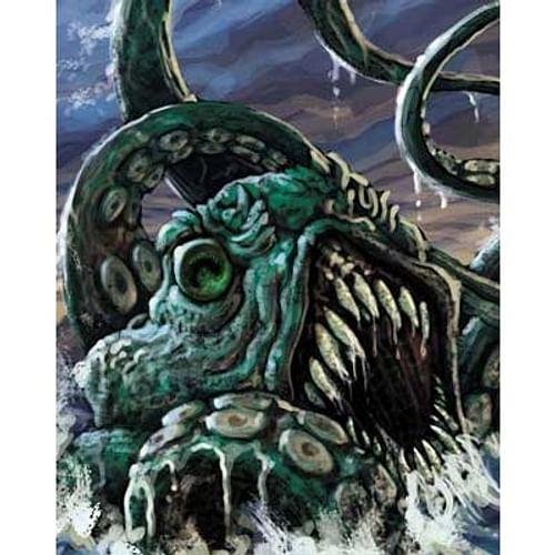 Descent miniatures - Kraken