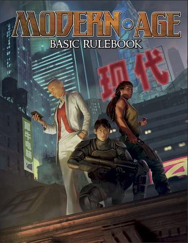 Modern AGE RPG Basic Rulebook