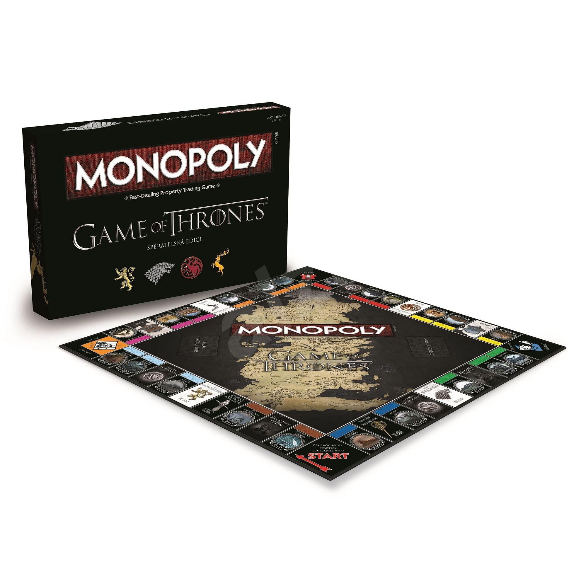 Monopoly: Hra o trůny (česky)
