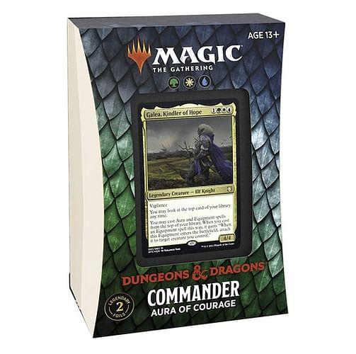 MTG: Adventures in the Forgotten Realms - Aura of Courage Commander Deck