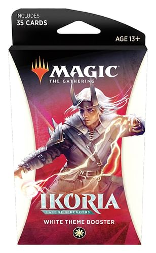 Magic: The Gathering - Ikoria: Lair of Behemoths Theme Booster White