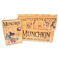 Munchkin - komplet 1-9 díl