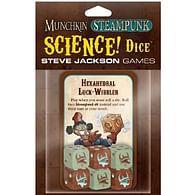 Munchkin Steampunk Science Dice