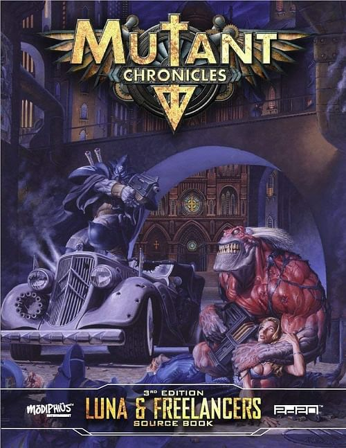 Mutant Chronicles RPG: Luna and Freelancers Source book