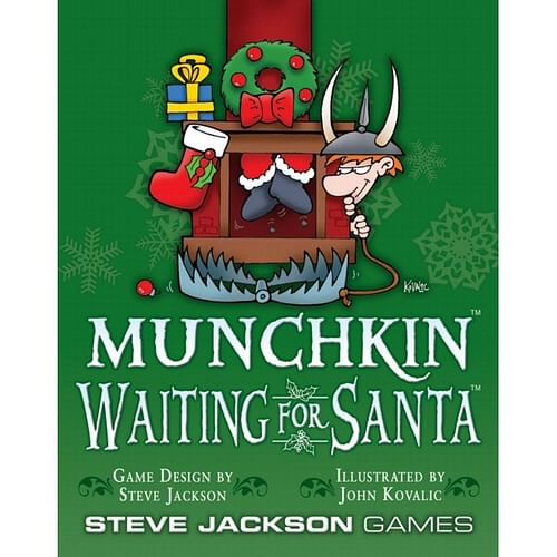 Munchkin Waiting For Santa