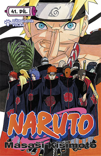 Naruto 41: Džiraijova volba