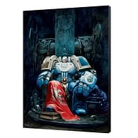 Dřevěný obraz Warhammer 40000 - Marneus Calgar