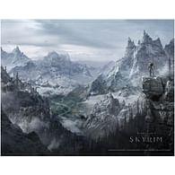 Nástěnný obraz Skyrim - Valley