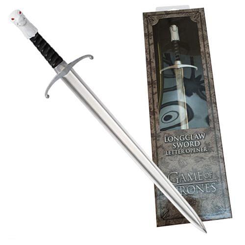 Noble Collection Nůž na dopisy Game of Thrones - meč Mormontů