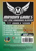Obaly na karty 88 x 125 pro Tiny Epic Kingdoms (Mayday)