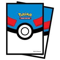 Obaly na karty Pokémon - Great Ball (65 ks)