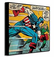 Obraz Captain America - Empty Handed