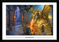 Obraz Dungeons & Dragons - Gold Dragon