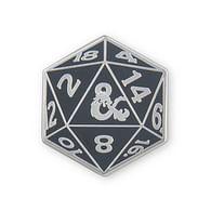 Odznak Dungeons & Dragons - D20