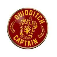 Odznak Harry Potter - kapitán famfrpálového týmu Nebelvíru
