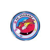 Odznak Sonic The Hedgehog - Eggman