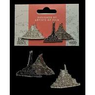Odznaky Pán prstenů - Minas Tirith a Hora osudu
