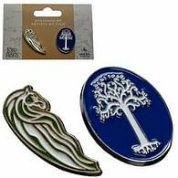 Odznaky Pán prstenů - Rohanský kůň a Bílý strom Gondoru