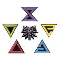 Odznaky Zaklínač (6 ks)