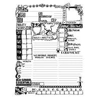 Old-School Essentials Underground Character Sheet