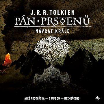 Pán prstenů: Návrat krále - audiokniha (2 CD) - J. R. R. Tolkien