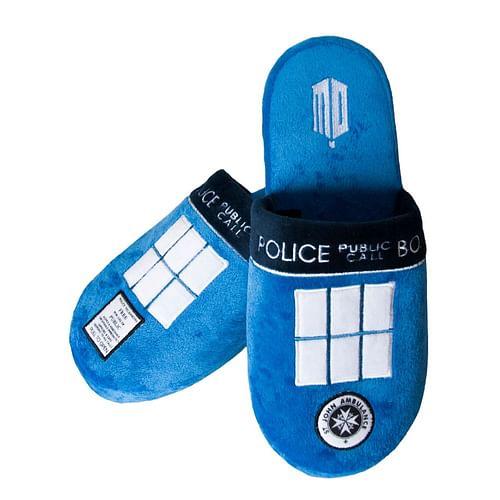 Groovy Pantofle Doctor Who - Tardis, velikost 42-45