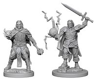 Pathfinder Battles: Deep Cuts Miniatures - Human Male Clerics