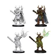 Pathfinder Battles: Deep Cuts Miniatures - Male Half-Orc Druid
