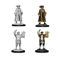 Pathfinder Battles: Deep Cuts Miniatures - Mayor & Town Crier