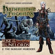 Pathfinder Legends: Rise of the Runelords 2 - The Skinsaw Murders CD