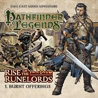 Pathfinder Legends: Rise of the Runelords 1 - Burnt Offerings CD