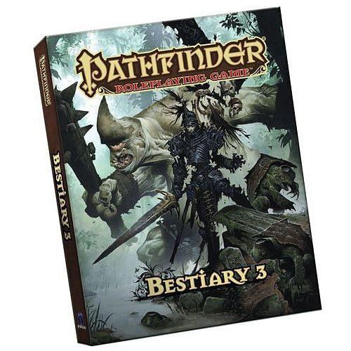 Pathfinder RPG: Bestiary 3 (kapesní vydání)
