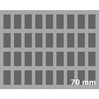 Pěnový pořadač Feldherr, 70 mm with base