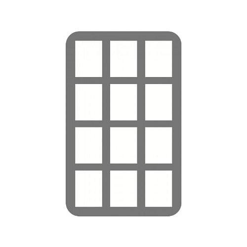 Pěnový pořadač Feldherr mini, 40 mm, 12 slotů
