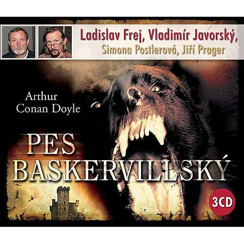 Pes Baskervillský - audiokniha (3 CD)